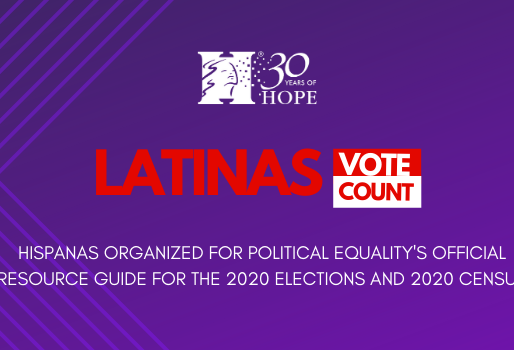 Latinas Vote, Count: A Panel Discussion on the 2020 Census and the General Election