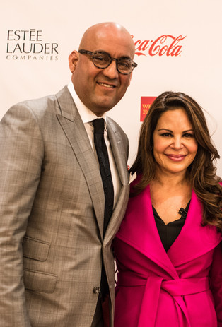 Peter Villegas of The Coca-Cola Company and Keynote Speaker Nely Galan