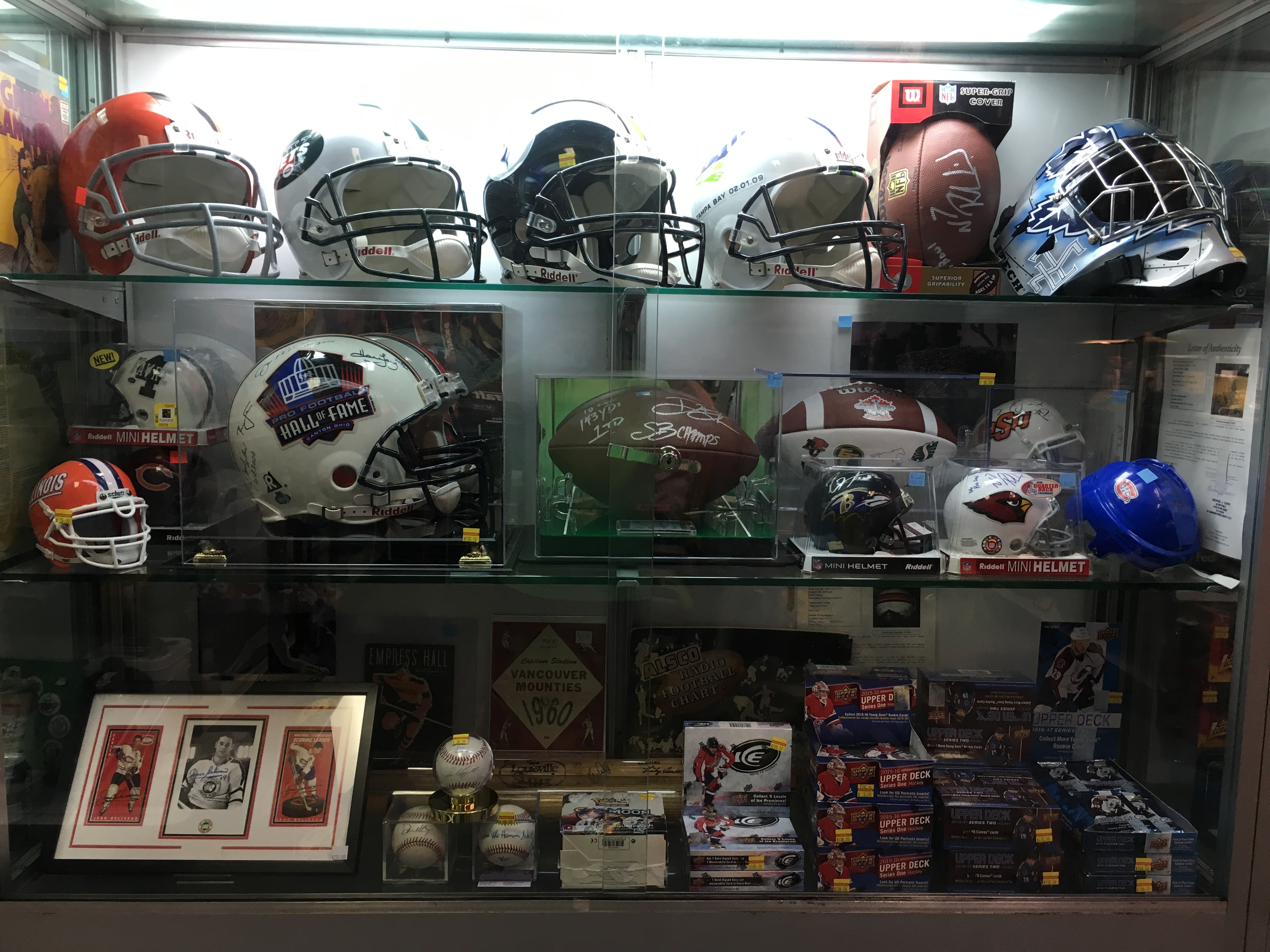 Helmets and more