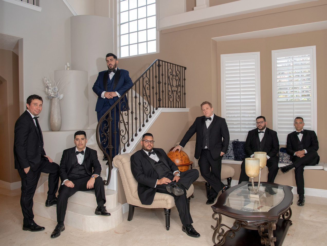 Wedding Groom Groomsmen