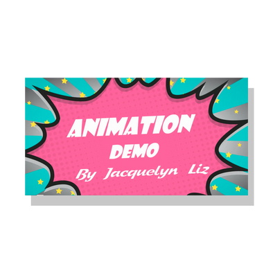 Animation Reel by Jacquelyn Liz