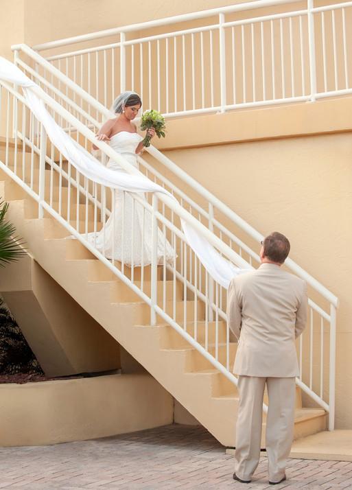 Bride Entrance Wedding Shores Resort