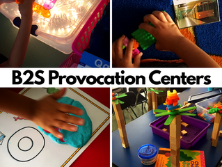 Back to School Provocation Centers