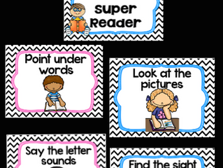 How to be a super Reader Anchor posters