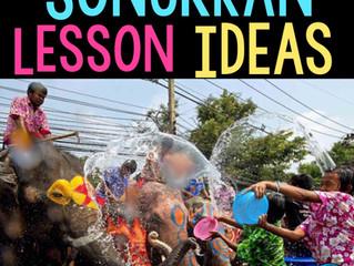 Songkran Lesson Ideas