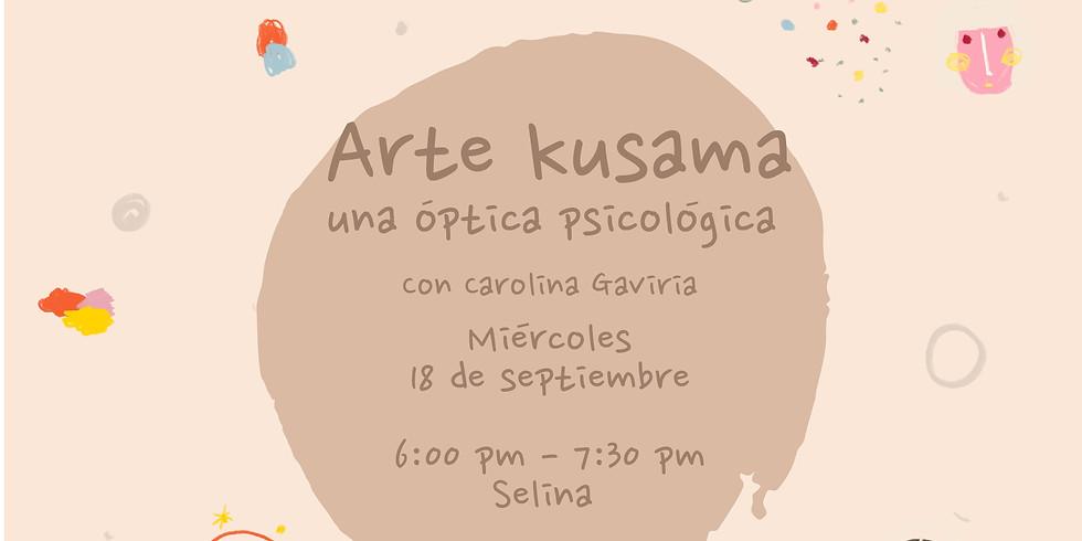 Arte Kusama: una óptica psicológica