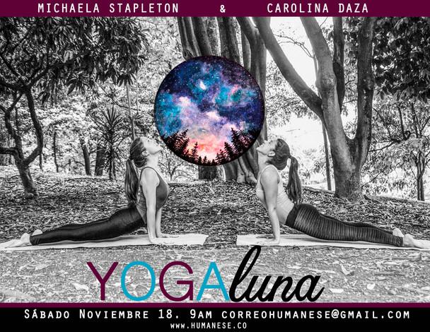 Taller Yoga LUNA - NOVIEMBRE