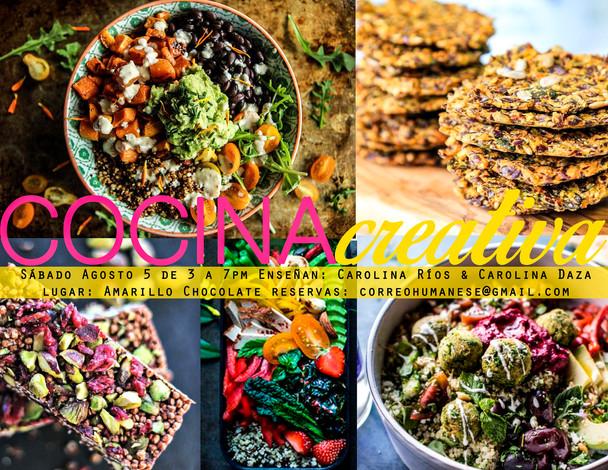Taller Cocina Creativa - Agosto