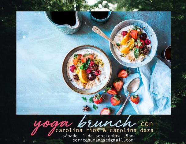 YogaBrunch - Septiembre
