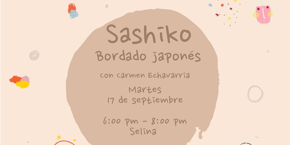 Taller de Sashiko, bordado japonés