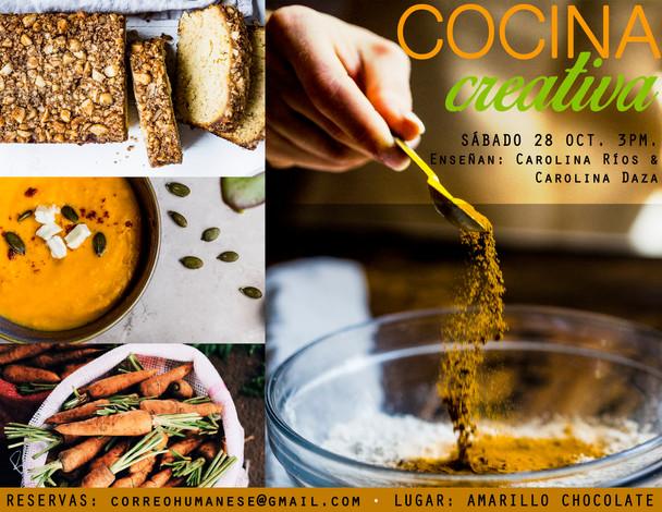 Taller Cocina Creativa - Octubre