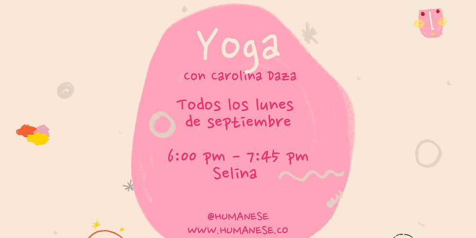 Lunes de Yoga