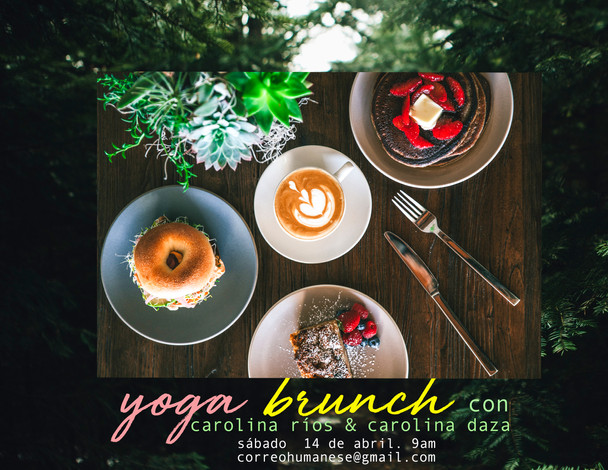 YogaBrunch - Abril