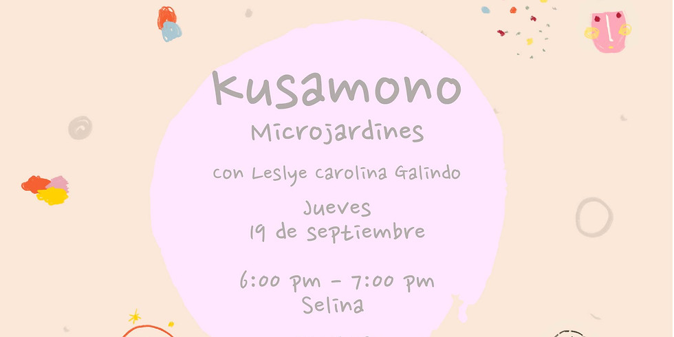 Taller de Kusamono - Microjardines