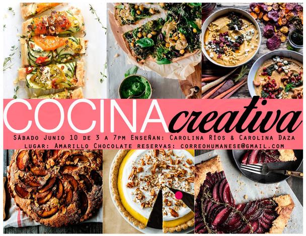 Taller Cocina Creativa - Junio