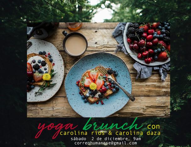 YogaBrunch - Diciembre