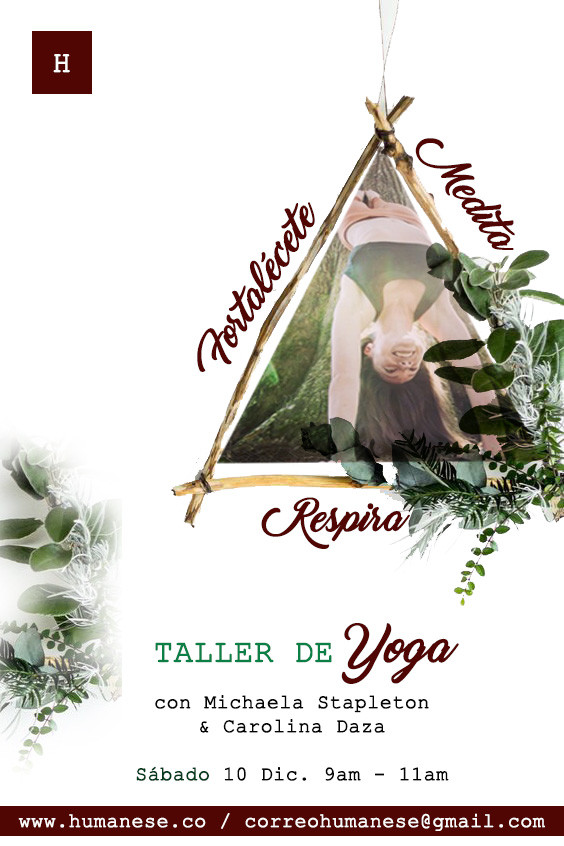 ¡Taller de Yoga!