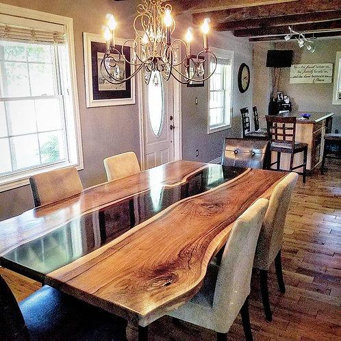 English Walnut Dining Room Table
