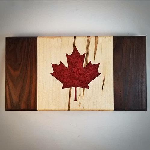 Canadian Flag Charcuterie/ Cutting Board