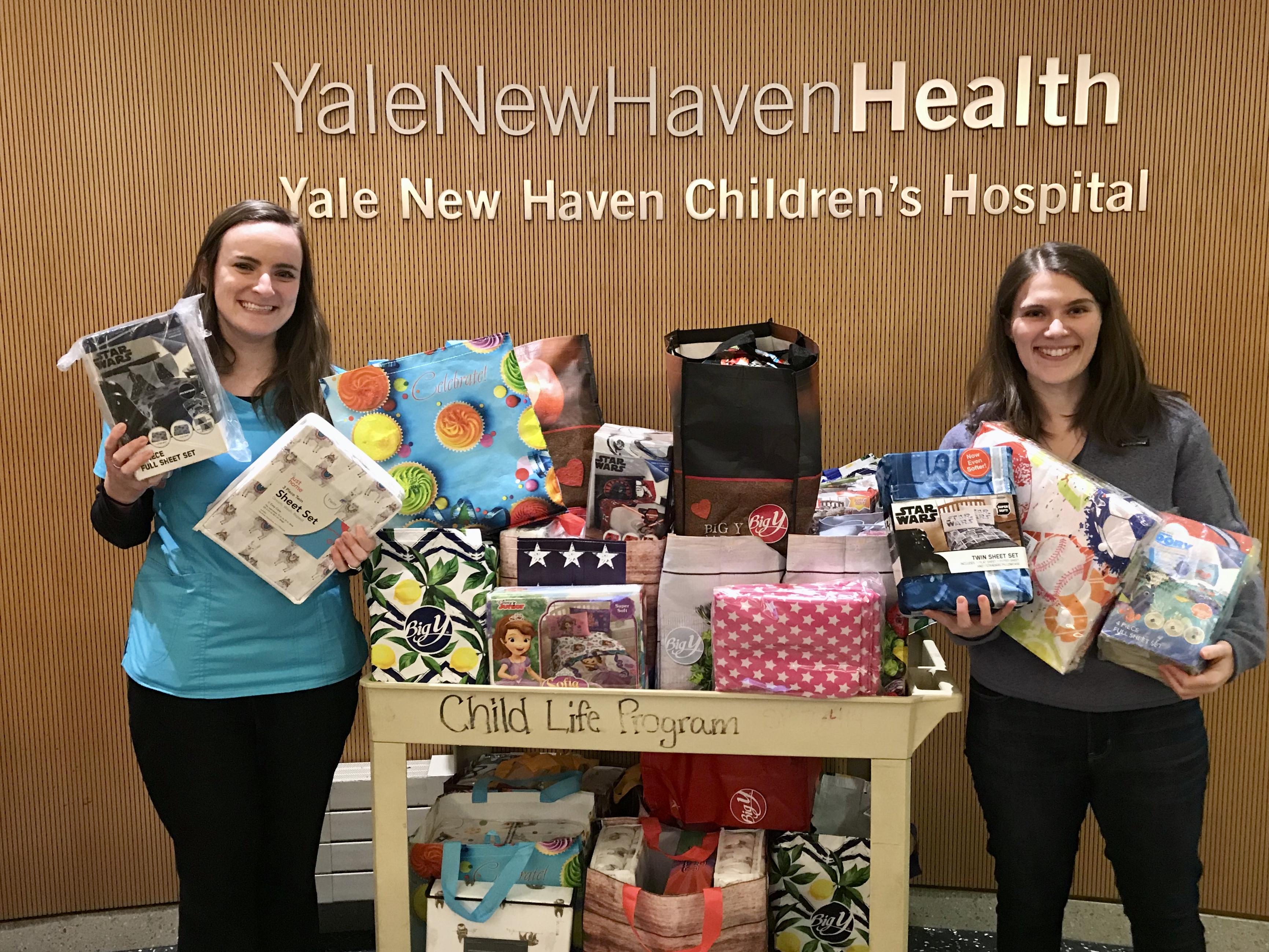 The Hillis bringing smiles to Smilow Cancer Center