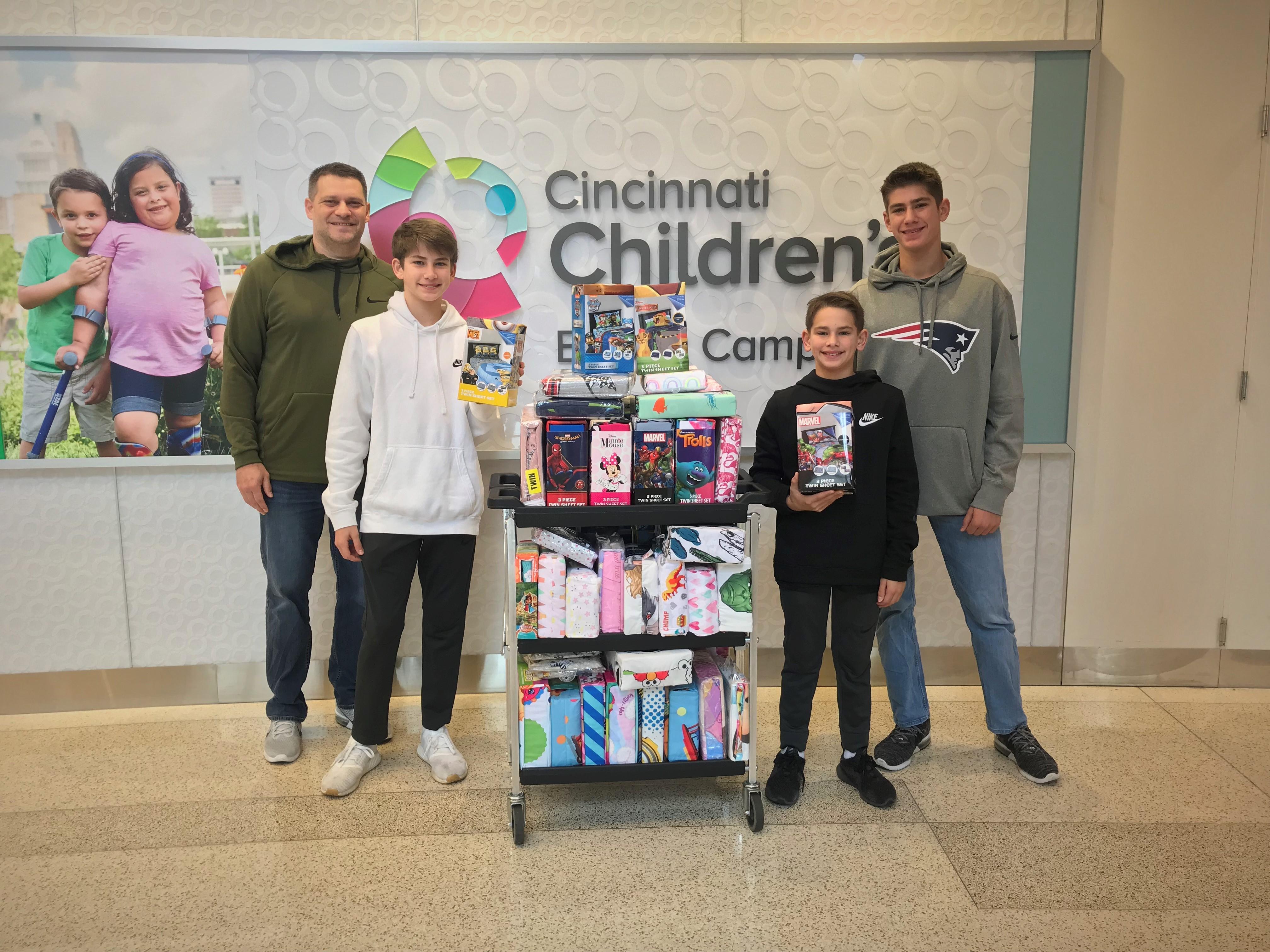 We #giveasheet in Cincinnati