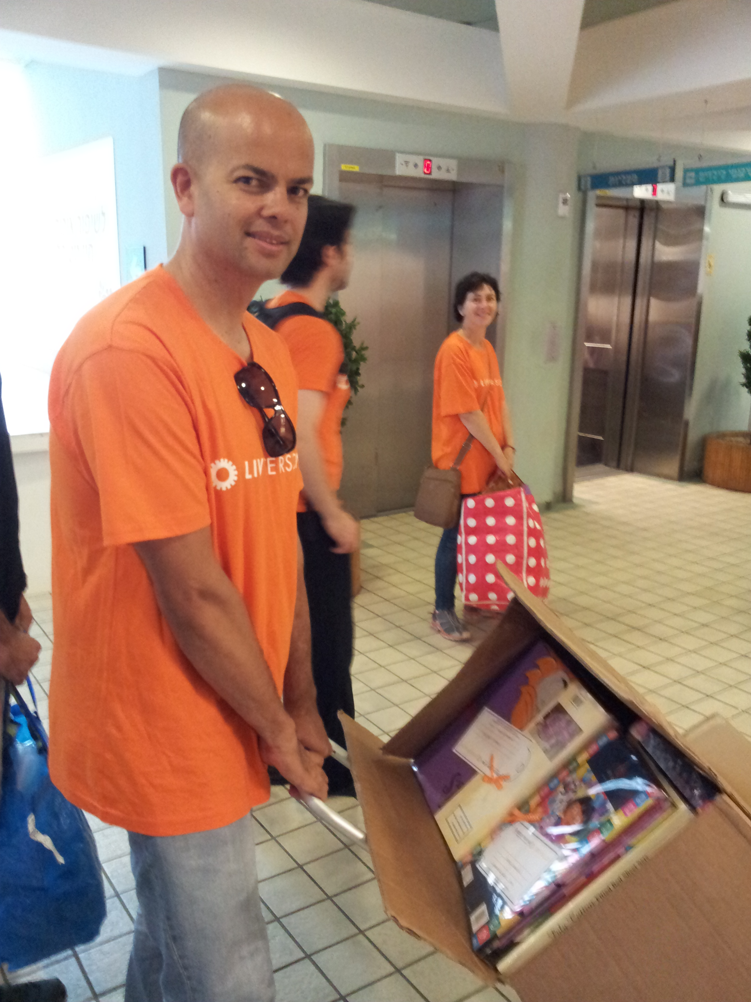 LIVEPERSON's 'Giving back' Day