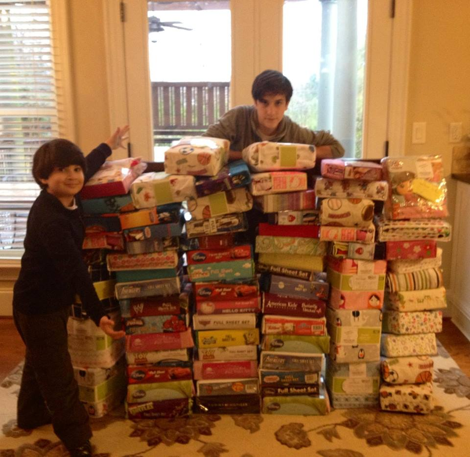 NC Pile! Getting ready for drop off!