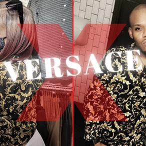 "Monique Wears Sev's ""Versace"" (TGLA Exclusive)"