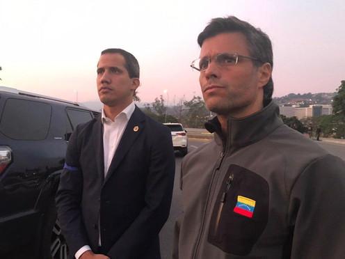 Momentos claves de Guaidó en la actualidad política en Venezuela
