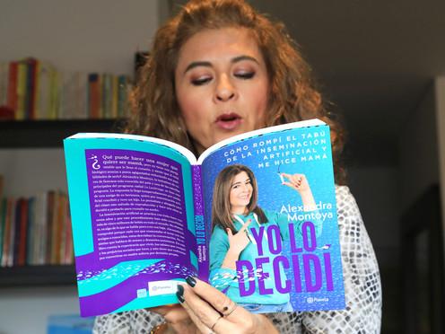 Alexandra Montoya, la mujer de las mil voces