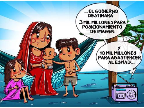[Caricatura] La Guajira en el olvido