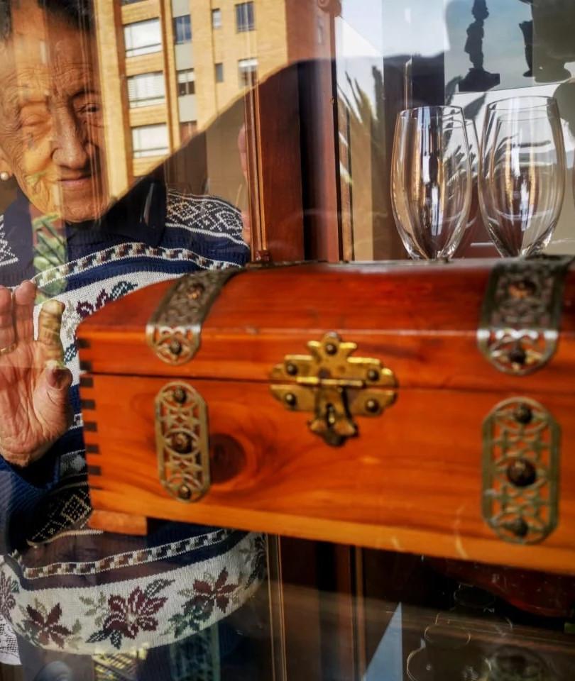 El viejo baúl de madera