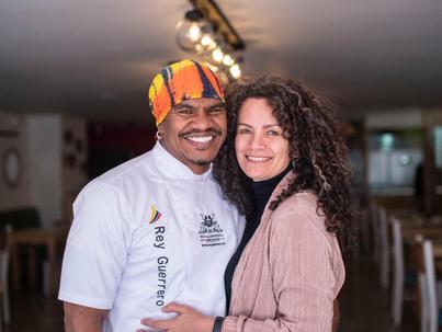Rey Guerrero: el rey de la gastronomía del pacífico en Bogotá