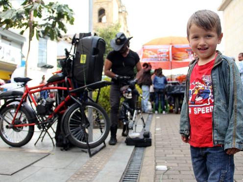 [FOTOPERIODISMO] Transportarse en Bogotá es una aventura