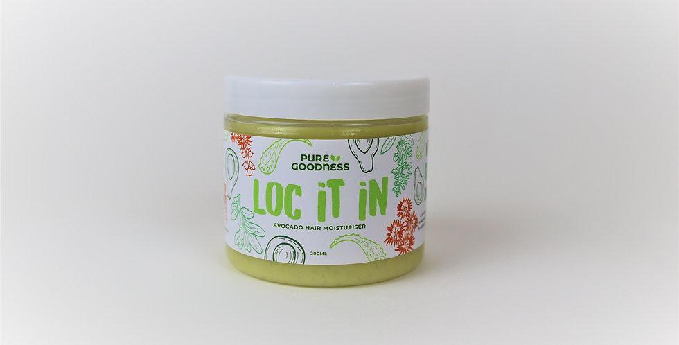 'Loc It In' Avocado Hair Moisturiser