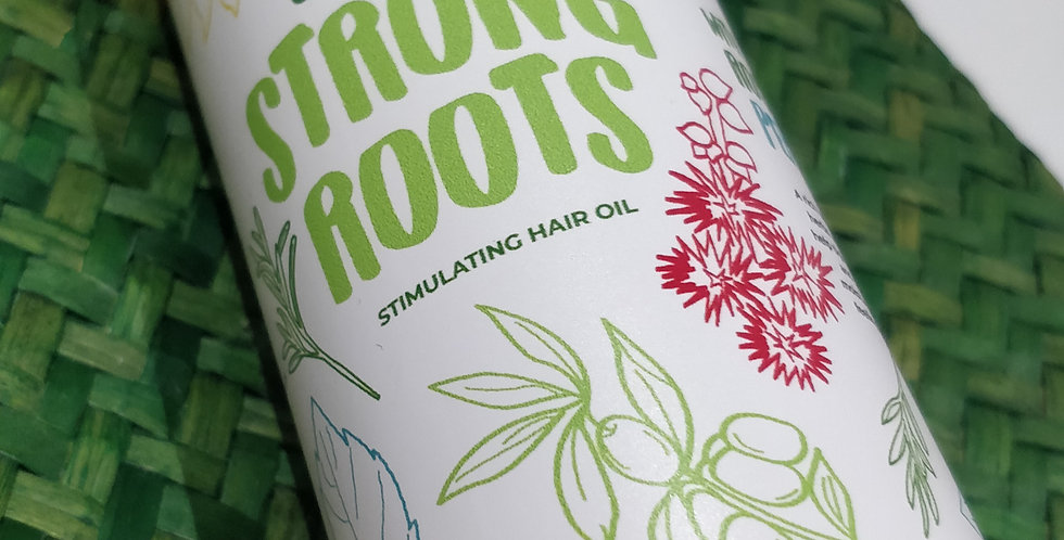 Strong Roots - Stimulating Hair Oil