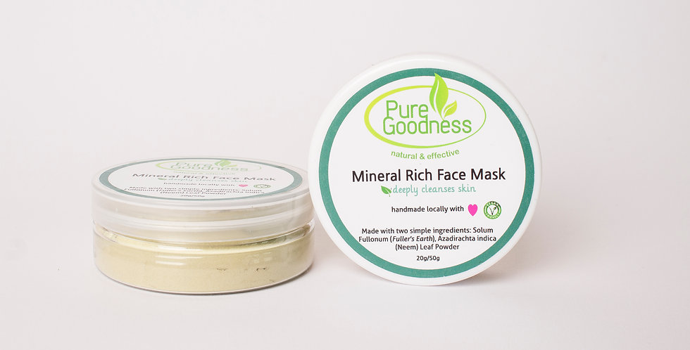 Mineral Rich Face Mask