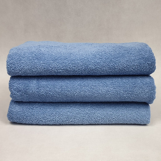 Ręcznik frotte 70X140 - Niebieski