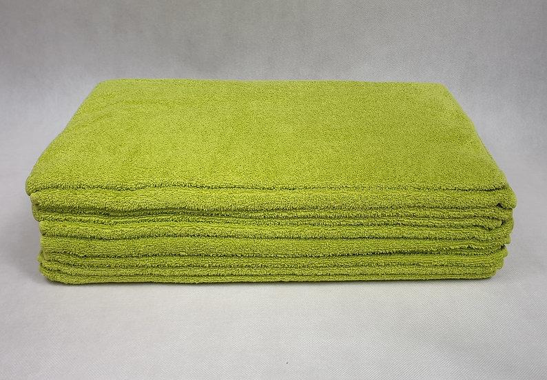 Ręcznik frotte 50x100 - Zielone Jabłuszko