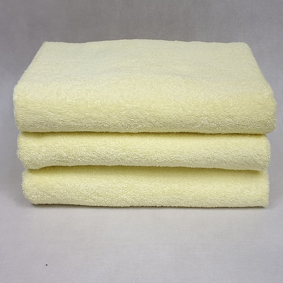 Ręcznik frotte 70x140 - Żółty