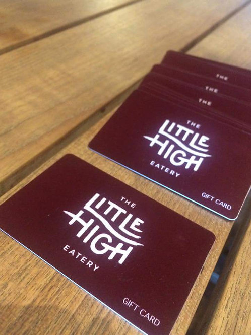Little High Gift Card $100