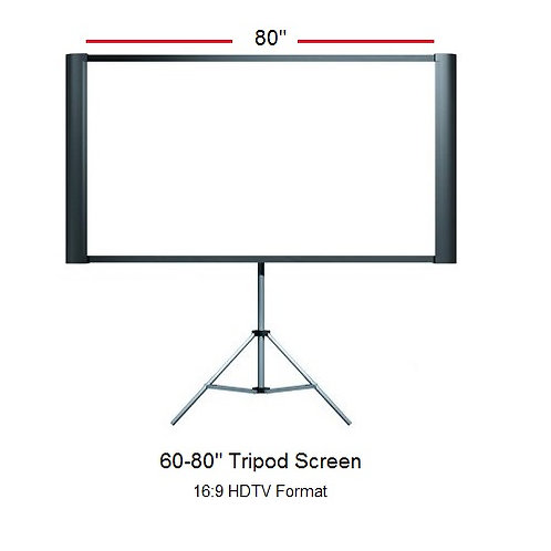 "80"" Epson Tripod Screen"