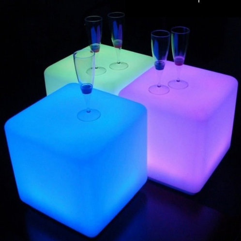 Glow Cube Tables