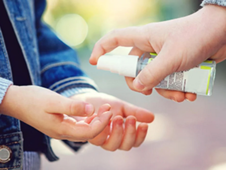 The Rise of Hand Sanitizer Use Is Harmful To Children's Eyes