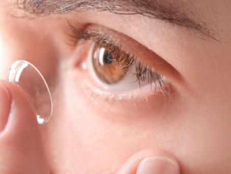 Os custos ambientais das lentes de contato