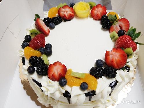 "#130/ 10"" round Strawberry"