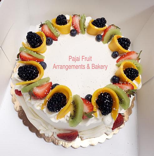 """#182/ 8"""" mix fruit filled (mango/strawberry)"""