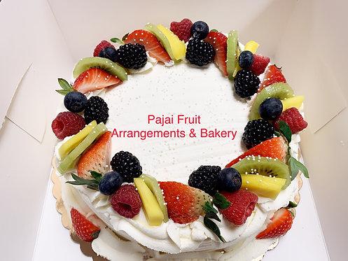 """#190/ 8"""" mix fruit (mango/strawberry filled)"""