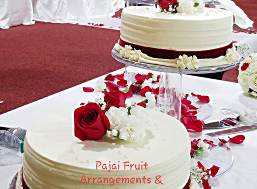 The beauty of presentation and individual wedding cake vs. stacking tier.