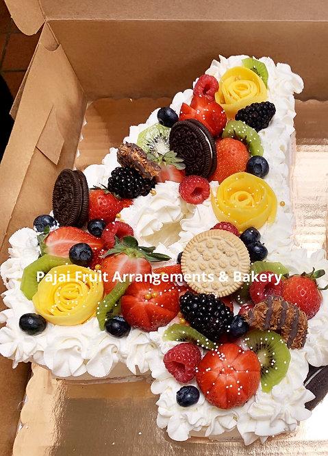 Number cake (single number)